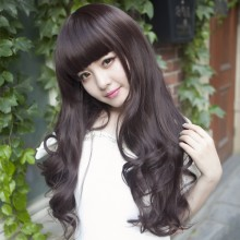 Long Wave Curly Natural Wigs 3 Colors