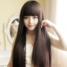 Long Straight Natural Wigs 3 Colors