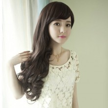 Long Roll Fluffy Big Wave Natural Wig 3 Colors