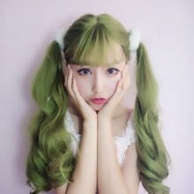 Long Roll Big Wave Fashion Temperament Lolita Wigs