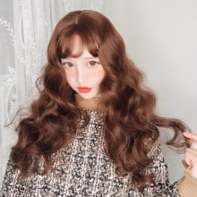 Long Wave Fashion Sweet Natural Wigs 2 Colors