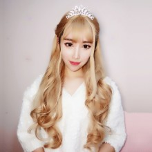 Long Curly Fashion Personality Cute Sweet Lolita Wigs 3 Colors
