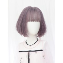 Short Curly Fashion Personality Pink Sweet Lolita Wigs