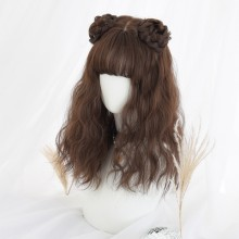 Long Curly Wavy Fashion Popular Light Brown Sweet Lolita Wigs